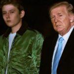 トランプ大統領の息子バロン14歳の誕生日を迎えるも、背の高さに驚き